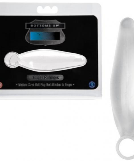 PLUG ANAL BOTTOMS UP FINGER RAMMERS TRANSPARENTE