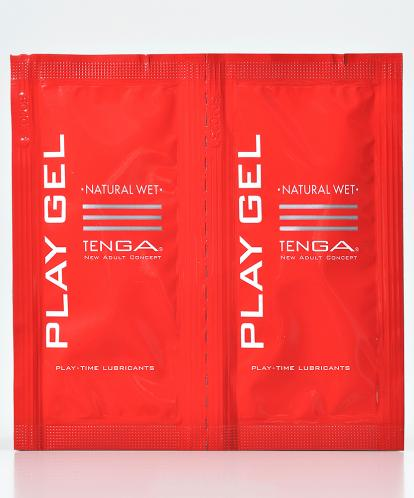 LUBRIFICANTE TENGA PLAY GEL NATURAL WET 2 X 8ML