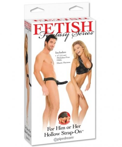 STRAP-ON OCO PARA INICIANTES FETISH FANTASY SERIES PRETO