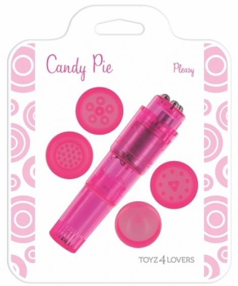 VIBRADOR CANDY PIE PLEASY ROSA